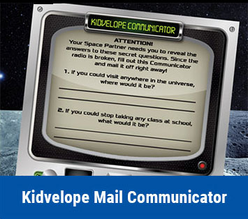 Kidvelope Mail Communicator